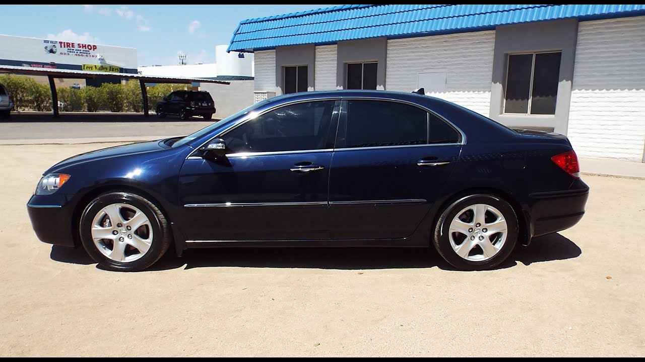 2005 Acura Rl 3 5 Sh-awd Loaded Pr1302