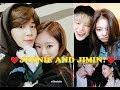 Jennie Kim and Park Jimin (방탄소년단) BTS x BlackPink (블랙핑크) How Jimin react?