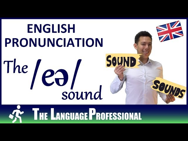 English Pronunciation | How to pronounce the /eə/ sound