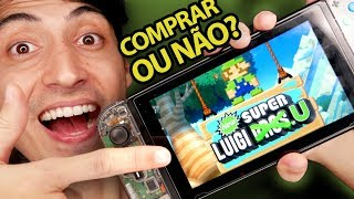 Baixar New Super Mario Bros U Deluxe vale a pena comprar no Switch?