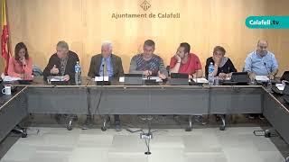 Ajuntament de Calafell: sessió plenària ordinària, 9 de maig de 2019