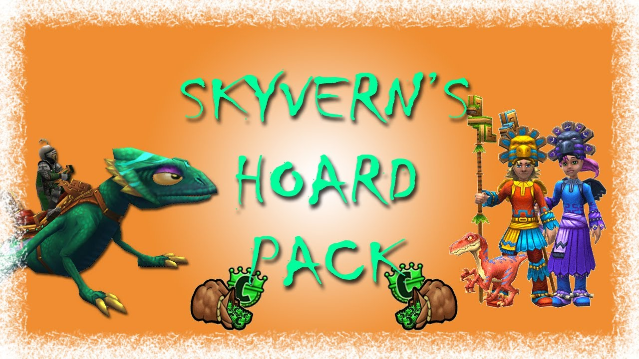 Wizard101: Opening Skyvern Packs! (Giveaway ENDED)