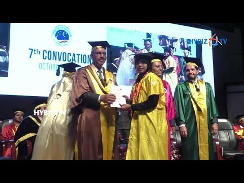 B.S. Abdur Rahman Crescent University University 7th Convocation Day Celebrations