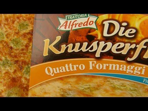 Trattoria Alfredo - Die Knusperfrische Quattro Formaggi Pizza