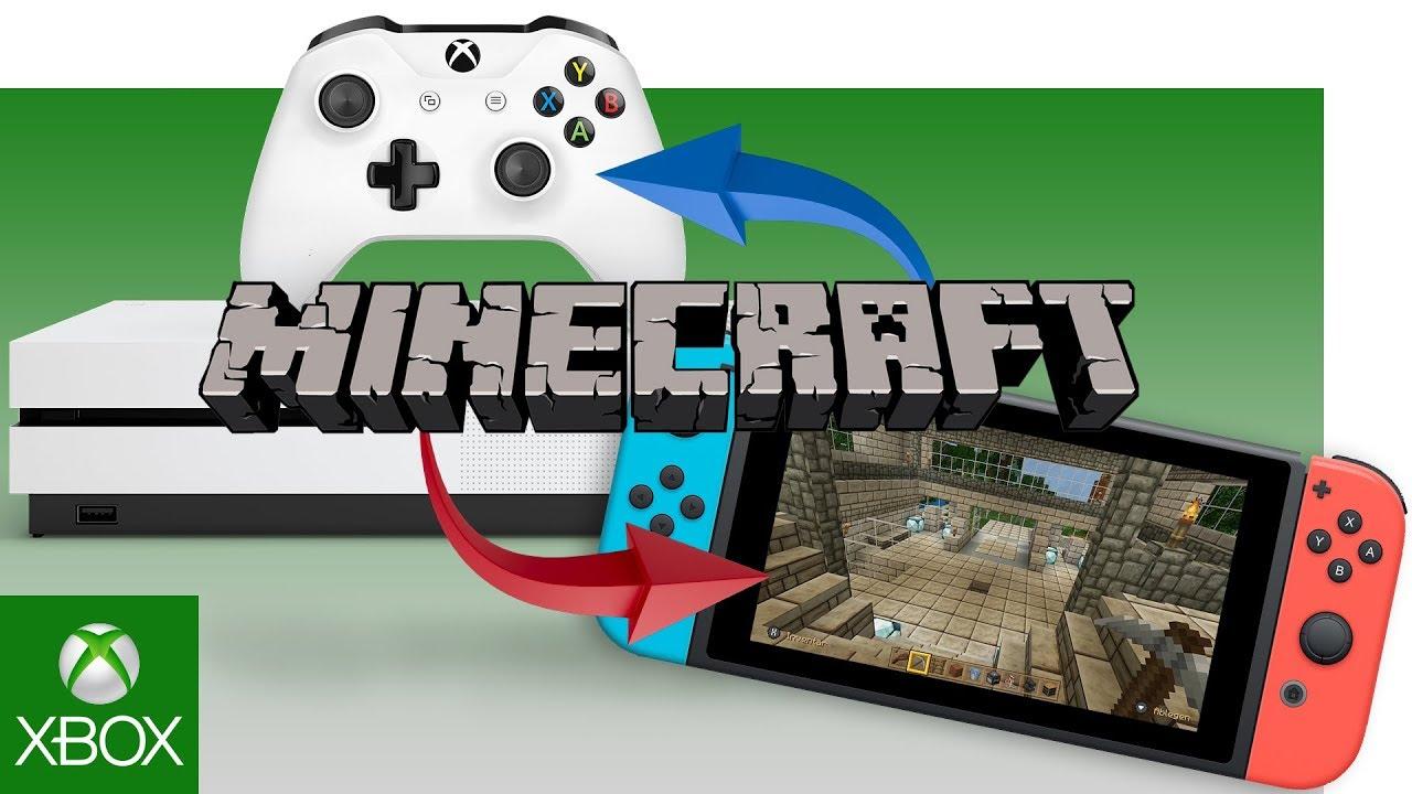 So zockt ihr Minecraft gemeinsam auf Nintendo Switch & Xbox One  Xbox Tech  Guide Tutorial (deutsch)
