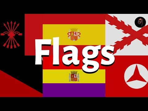 Flags Of The Spanish Civil War