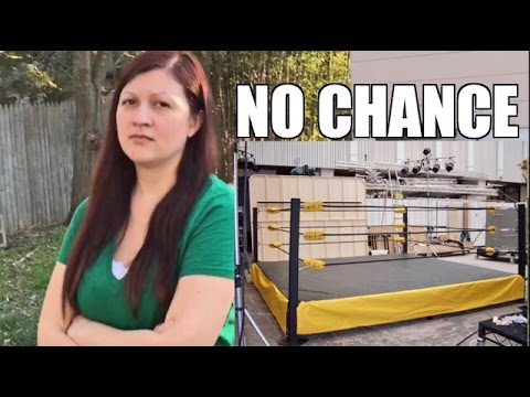 SPENDING TAX REFUND ON A WRESTLING RING!