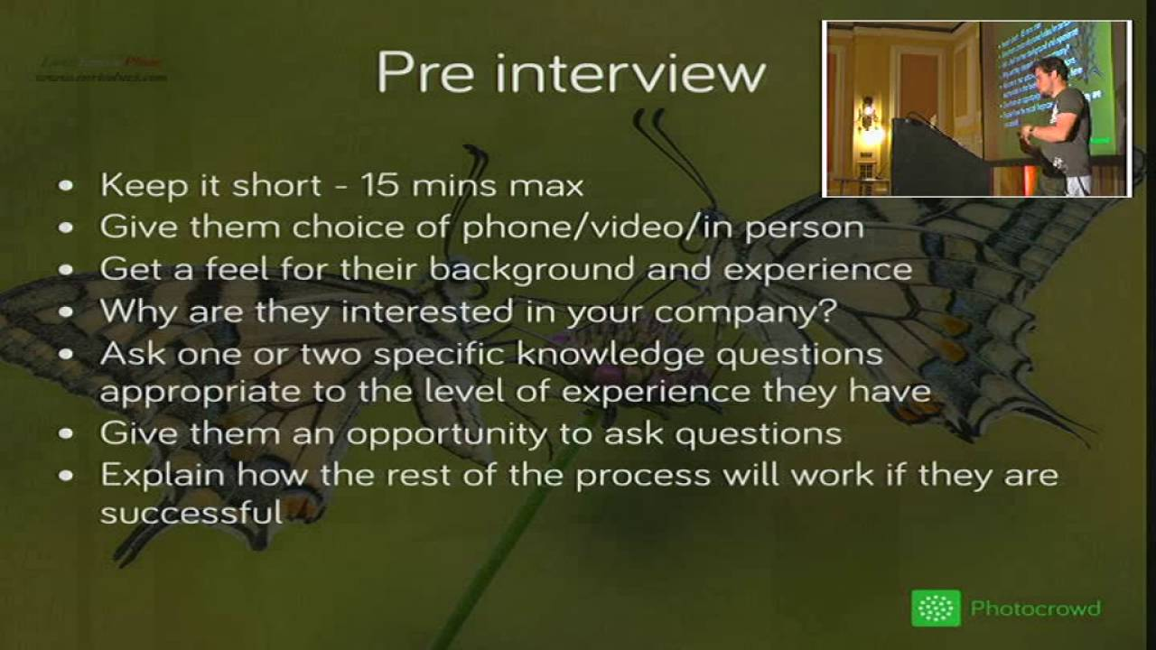 Image from Tech interviews that don't suck