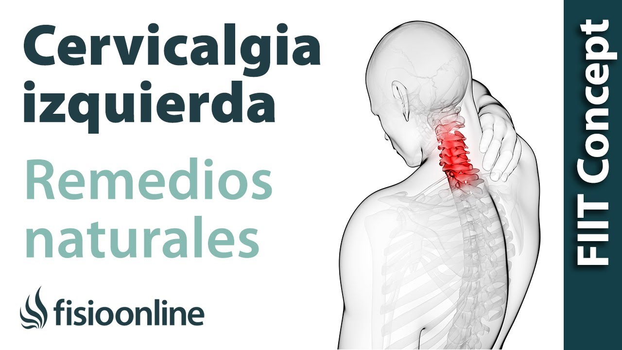 remedio natural para la contractura cervical