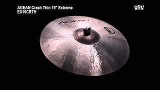 "Crash Thin 19"" Extreme vidéo"