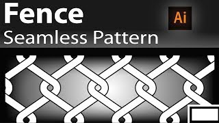 illustrator seamless pattern tutorial how to create seamless pattern in illustrator, Fence design