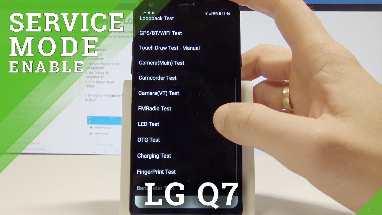 Codes LG Q7 Plus - HardReset info