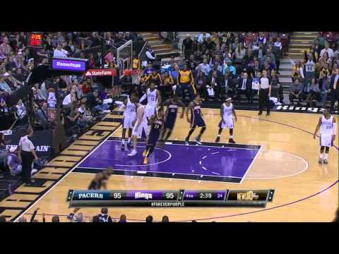Indiana Pacers vs Sacramento Kings 2014.1.24
