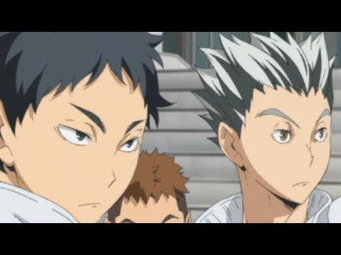 bokuto and akaashi moments haikyuu
