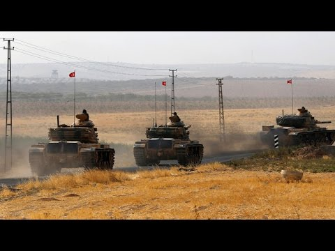 Jarablus 'being cleansed' of ISIS, Turkey sends more tanks to Syria