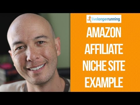 Treadmill Review Site - Amazon Affiliate Niche Site Example