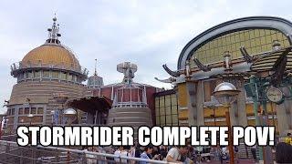 StormRider Motion Simulator Ride POV 4K Ultra HD Tokyo DisneySea Japan ストームライダー Disneyland 東京ディズニーシー