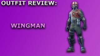 Wingman Outfit Review + Skin Showcase! ~ Starter Pack Item ~ Fortnite Battle Royale