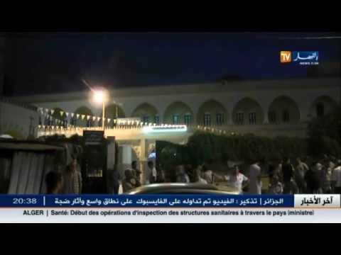 عنابة : سكان حي بوخضرة يضرمون النار في قطار دهس كهلا