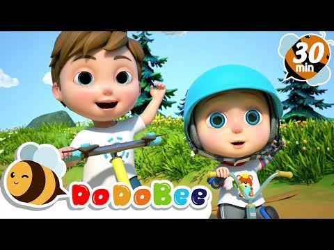 You Can Ride a Bike + More Nursery Rhymes & Kids Songs - DoDoBee from YouTube · Duration:  30 minutes 29 seconds