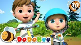 You Can Ride a Bike + More Nursery Rhymes  Kids Songs - DoDoBee