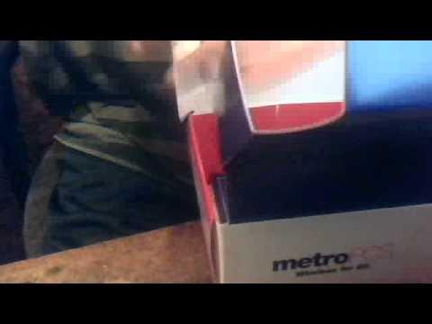 unboxing torino metropcs phone