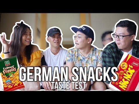 German Snacks Taste Test