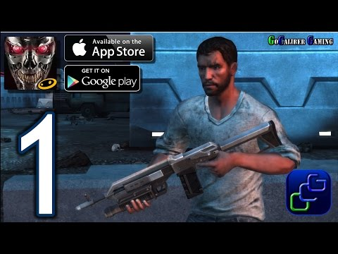 Terminator Genisys: Revolution Android IOS Walkthrough - Gameplay Part 1 - Chapter 1: New York