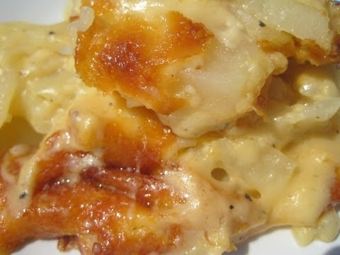 CREAMY SCALLOPED POTATOES - How to make SCALLOPED or AU GRATIN POTATOES Recipe