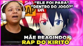MINHA MÃE REAGE AO Rap do Kirito (Sword Art Online) | Tauz RapTributo 08