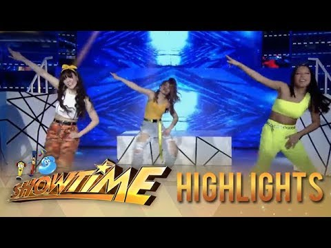 Girltrend Dawn, Ate Girl Jackque, and Stephen shows off their hot dance moves | It's Showtime