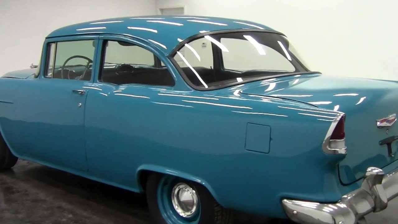 All Chevy 55 chevy for sale : 1955 Chevrolet 150 Utility Sedan - YouTube