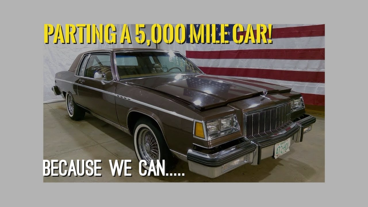 HABU263 1980 Buick Electra Park Avenue Coupe Test Video ...