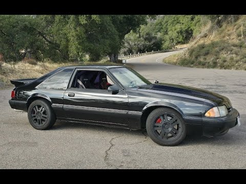 foxbody mustang notchback ls1 swap irs equipped lx coupe how to save money and do it yourself. Black Bedroom Furniture Sets. Home Design Ideas