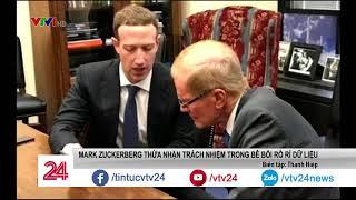 Mark Zuckerberg gặp gỡ giới lập pháp trước phiên điều trần trước quốc hội Mỹ - Tin Tức VTV24