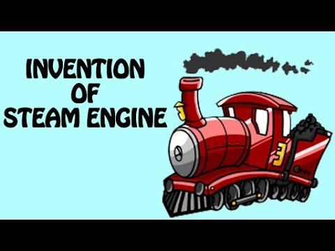 History Of Steam Engine | Inventions & Discoveries Of Transportation For Kids