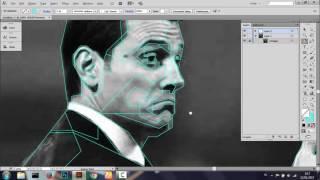 WPAP Mudah Adobe Illustrator (Part 2: Faceting & Grayscale)