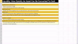 Excel Finance Class 09: Balance Sheet, Working Capital, Liquidity, Debt, Equity, Market Value thumbnail