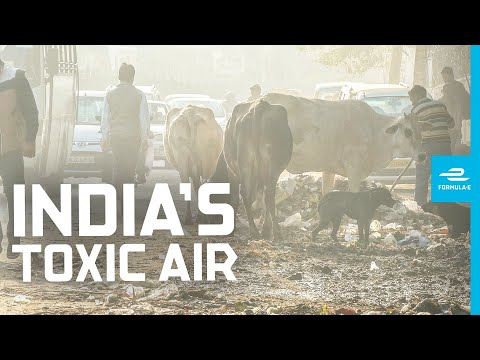 Most Polluted Major City On Earth | Race For Clean Air FULL DOCUMENTARY | Formula E | Delhi, India