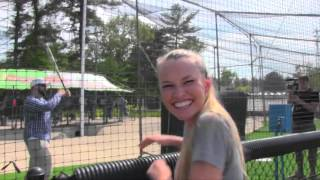 Blind Mike Goes To The Batting Cage