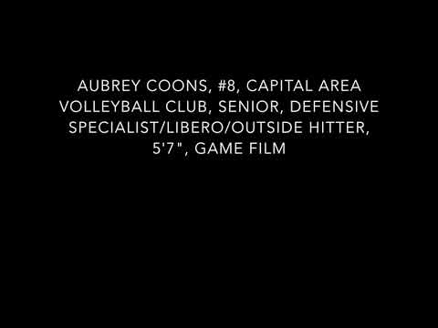 "Aubrey Coons, #8, CAVC, Springfield Southeast High School, Senior, DS/Libero/OH, 5'7"", Game Film"
