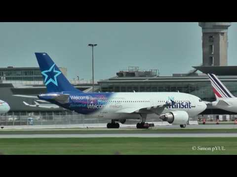 Arrivals Plane Spotting at Montreal-Trudeau Int'l Airport (YUL) / rwy 24R ~ May 16, 2017