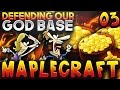 """""""DEFENDING OUR GOD BASE!"""" - Minecraft Factions Server Let's Play - Ep.3 (Minecraft Factions)"""