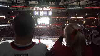 Chicago Blackhawks Opening Ceremonies & Stan Mikita tribute