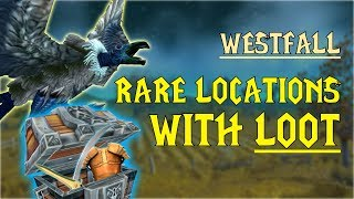 WoW Classic - Rare Mob Locations + UNIQUE LOOT - Westfall
