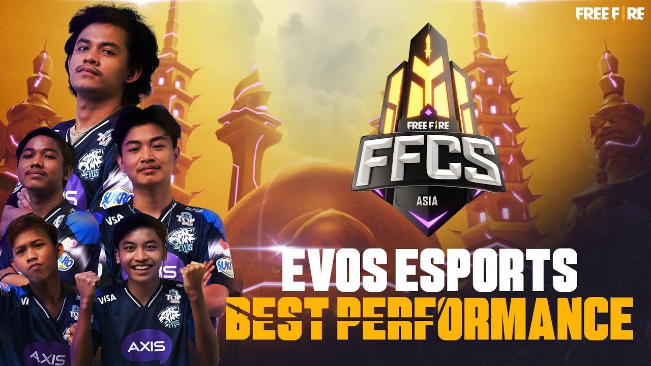 EVOS ESPORTS' Best Performance - FFCS: Asia Series