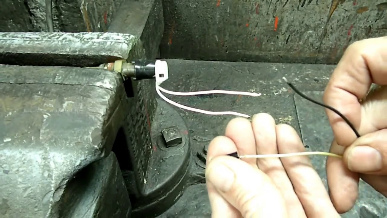 Engine Coolant Temperature Sensor Connector Replacement  updated   YouTube
