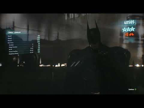 Batman: Arkham Knight - Monarch Theatre - Knightmare (Perfect Knight)