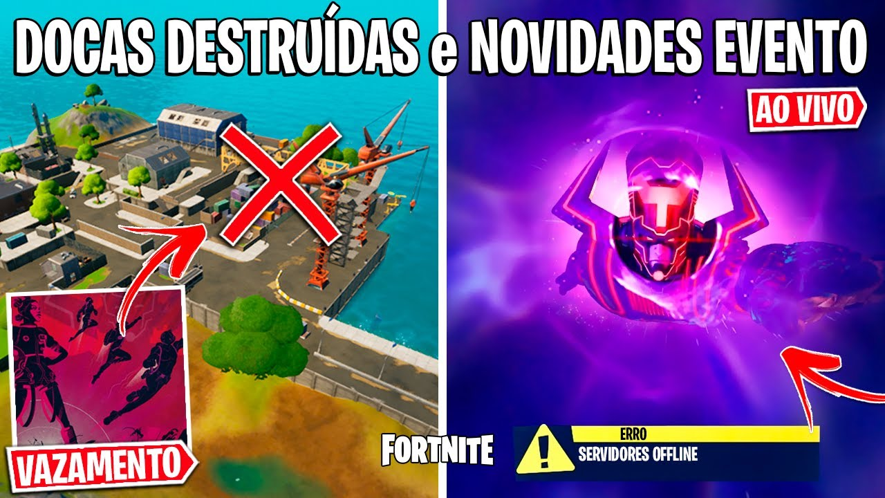 FORTNITE - TEASER EXPLOSÃO, FILAS DE ESPERA e DESCONTOS BLACK FRIDAY?