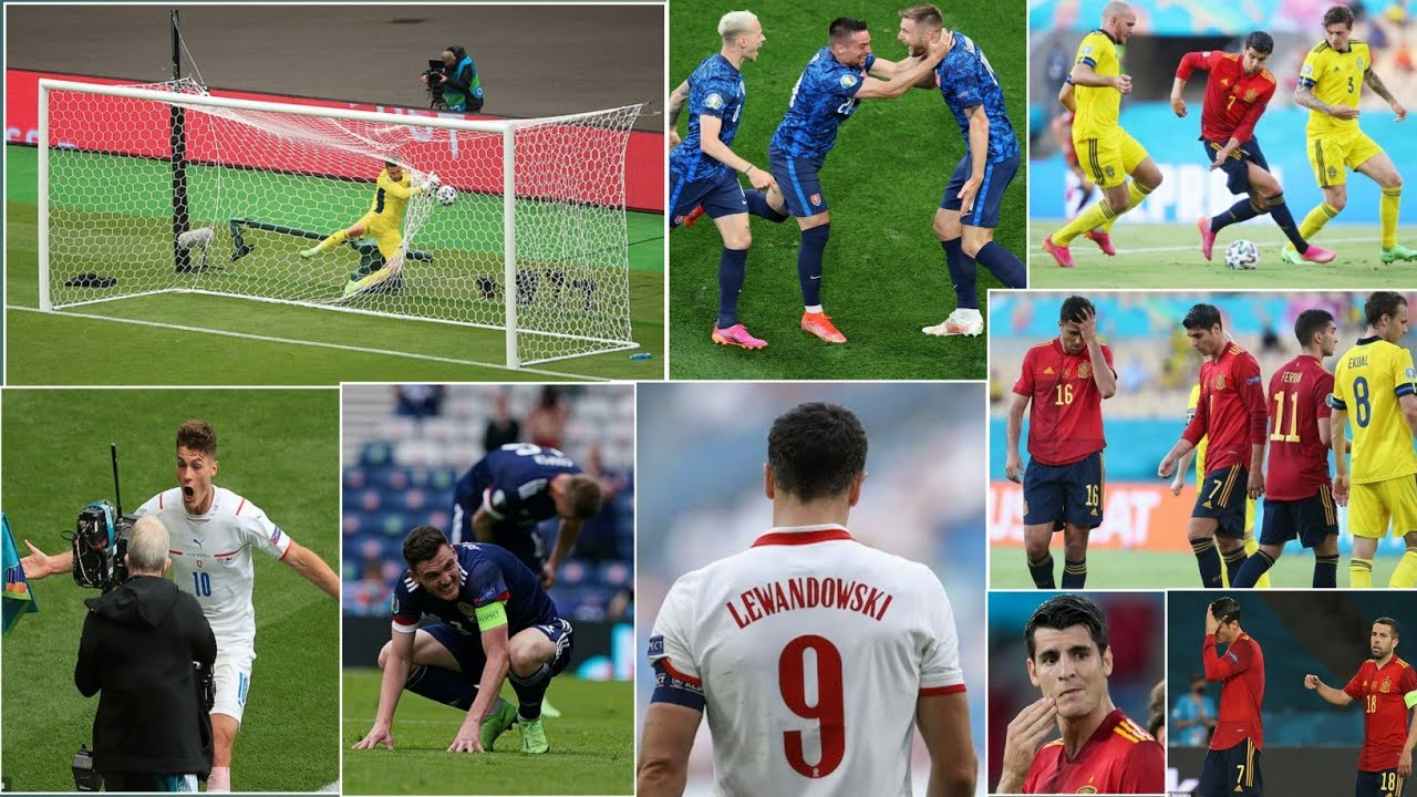 Euro 2020 Highlights, Spain vs Poland: Lewandowsi saves the day ...